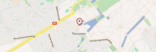Carte Tervueren - Bruxelles