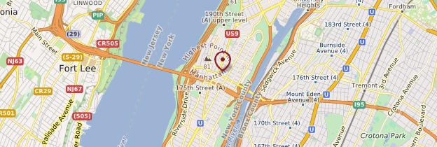 Carte Washington Heights - New York
