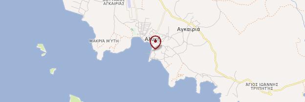 Carte Alyki - Îles grecques
