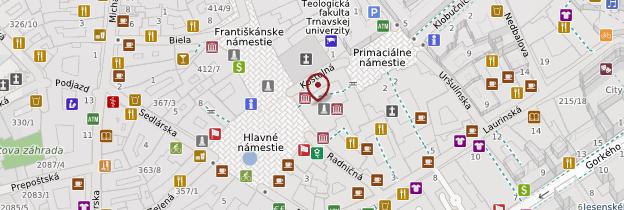 Carte Ancien hôtel de ville - Slovaquie