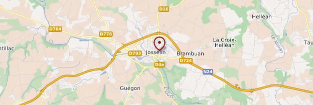 Carte Josselin (Josilin) - Bretagne