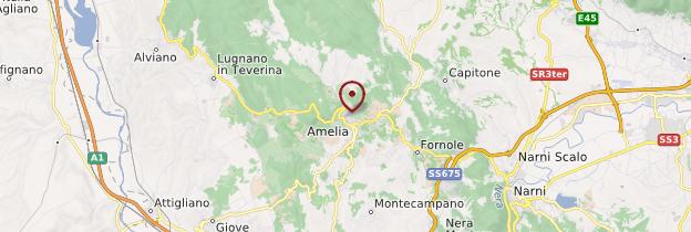 Carte Amelia - Italie