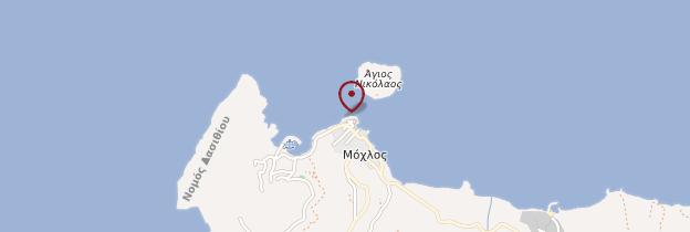 Carte Mochlos - Crète
