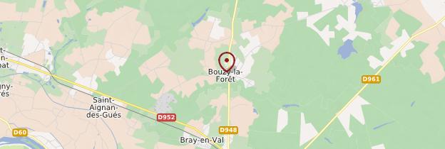 Carte Bouzy-la-Forêt - Châteaux de la Loire