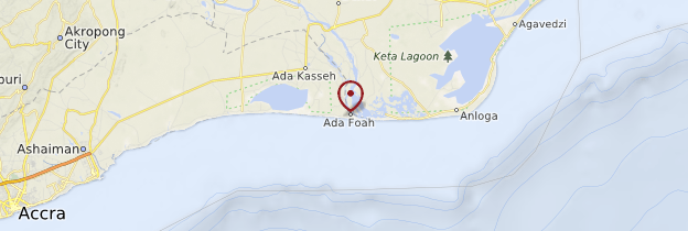 Carte Ada - Ghana