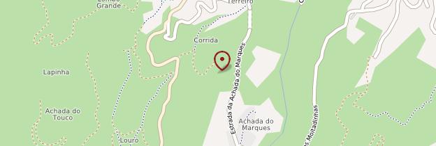 Carte Achada do Teixeira - Madère