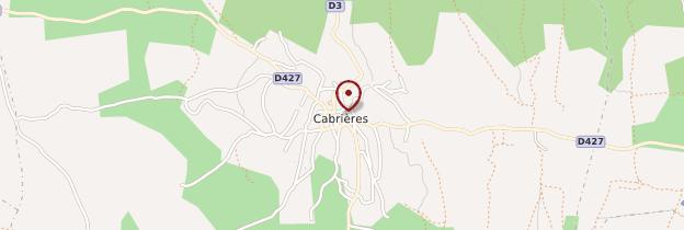 Carte Cabrières - Languedoc-Roussillon