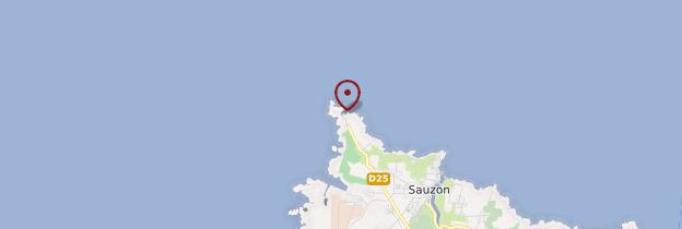 Carte Phare de la pointe des Poulains - Bretagne