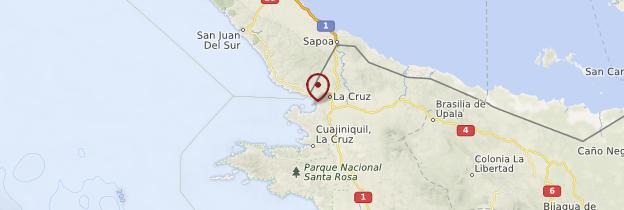 Carte Bahia Salinas - Costa Rica