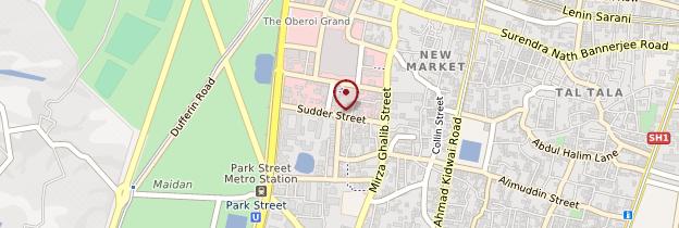 Carte Sudder Street - Inde