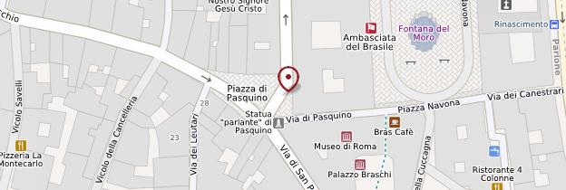 Carte Chiesa Sant'Agnese in Agone - Rome