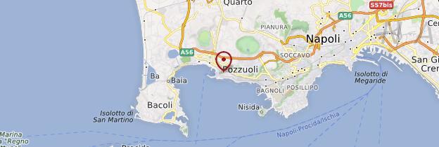 Carte Pozzuoli (Pouzzoles) - Naples