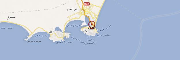 Carte Aden - Yémen