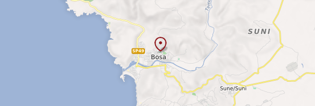 Carte Bosa - Sardaigne