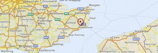 Carte Angleterre Le Kent.Kent Guide Et Photos Angleterre Routard Com