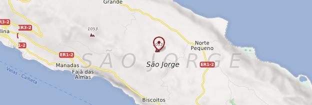 Carte São Jorge - Açores