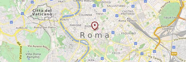 Carte Environs de Rome - Rome