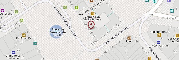 Carte Vieille Bourse - Lille
