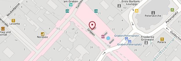 Carte Graben - Vienne