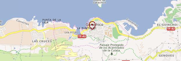 Carte Garachico - Tenerife