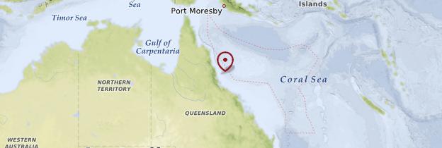 Carte Australie Fidji.Grande Barriere De Corail Queensland Guide Et Photos