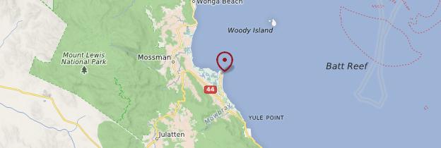 Carte Port Douglas - Australie