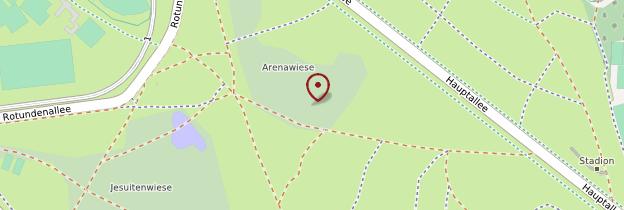 Carte Parc du Prater - Vienne
