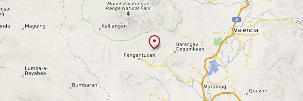 Carte Mindanao - Philippines