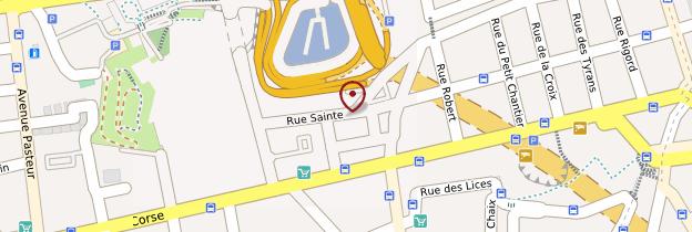 Carte Abbaye Saint-Victor - Marseille