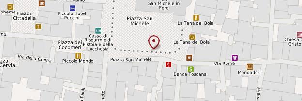 Carte Piazza San Michele - Toscane