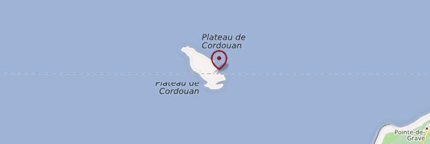 Carte Phare de Cordouan - Poitou, Charentes