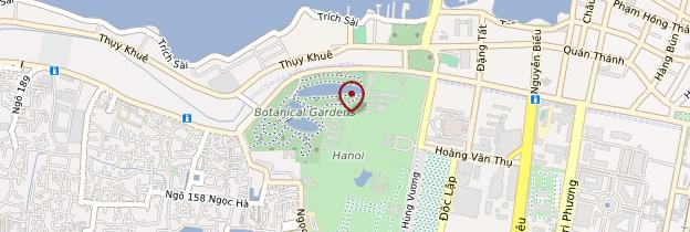 Carte Palais du gouverneur - Vietnam