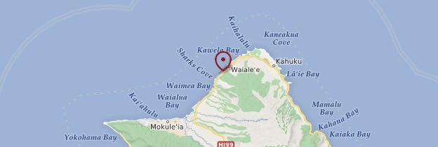 Carte Banzai Pipeline - Hawaii