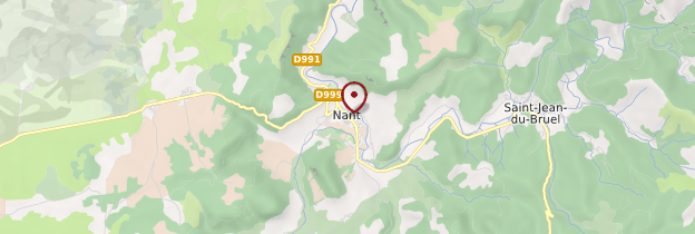 Carte Nant - Midi-Pyrénées