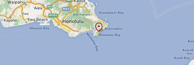 Carte Hanauma Bay - Hawaii
