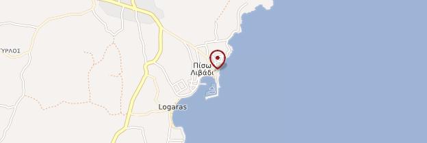 Carte Pisso Livadi - Îles grecques