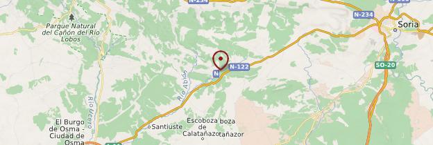 Carte Calatañazor - Espagne