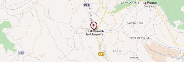 Carte Castelnaud-La Chapelle - Périgord - Dordogne