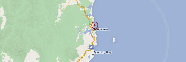 Carte Narooma - Australie