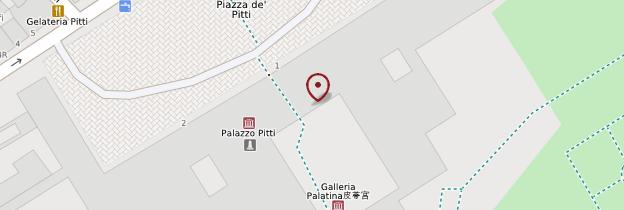 Carte Palazzo Pitti - Florence