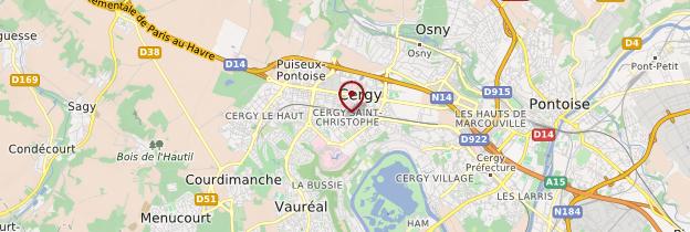 Carte Cergy-Pontoise - Île-de-France