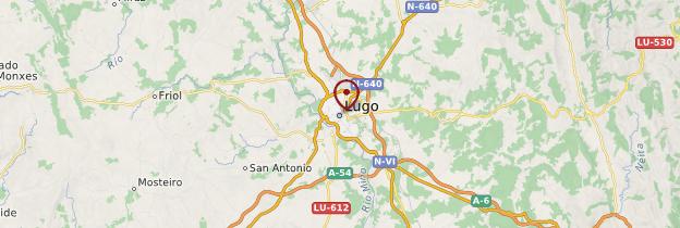 Carte Lugo - Espagne