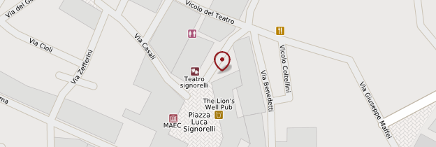 Carte Piazza Signorelli - Toscane