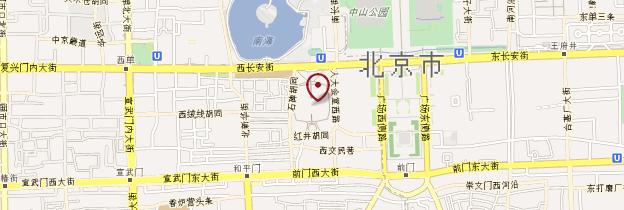 Carte Opéra de Pékin - Pékin (Beijing)
