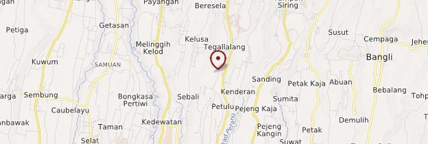 Carte Tegallalang - Bali