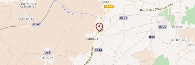 Carte Barnazat - Auvergne