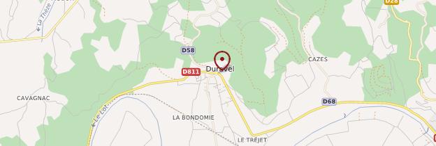 Carte Duravel - Midi toulousain - Occitanie