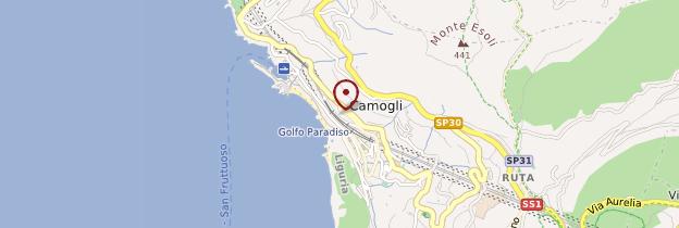 Carte Teatro sociale de Camogli - Italie