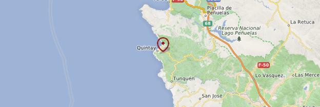 Carte Quintay - Chili