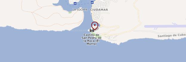 Carte Castillo del Morro - San Pedro de la Roca - Cuba